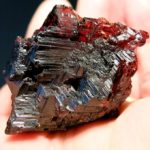 Garnet, Spessartine, Etched