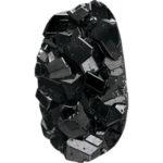 Garnet, Black, Andradite / Melanite Garnet