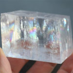 Calcite, Optical (Rainbow Calcite, Icelandic Spar)