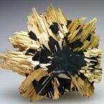 Rutile, Golden & Hematite